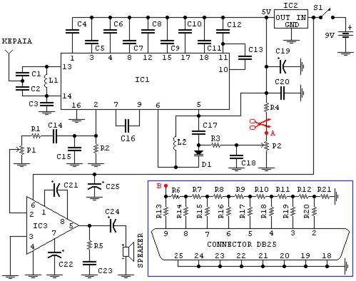 how to build fm radio may be used with pc circuit diagram rh high voltage lab com fm radio circuit diagram simple radio fm circuit diagram receiver
