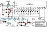 6V Ultra-Bright LED Chaser circuit diagram