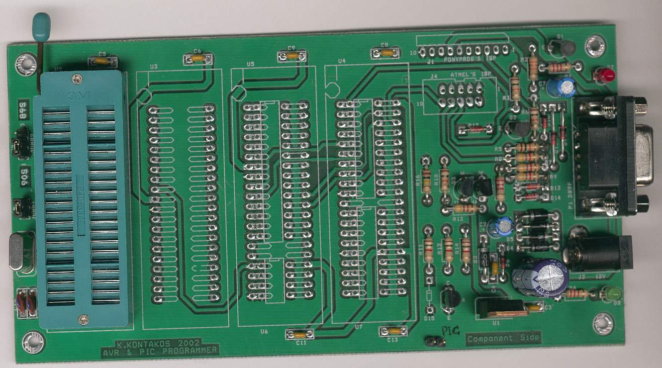 How To Build Ponyprog Circuit For Avr Pic16f84 Diagram Circuitdiagram Electricalequipmentcircuit Microprogrammercircuit